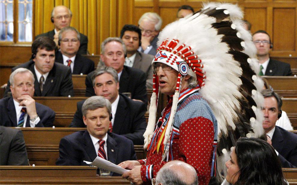 Indio en Ottawa