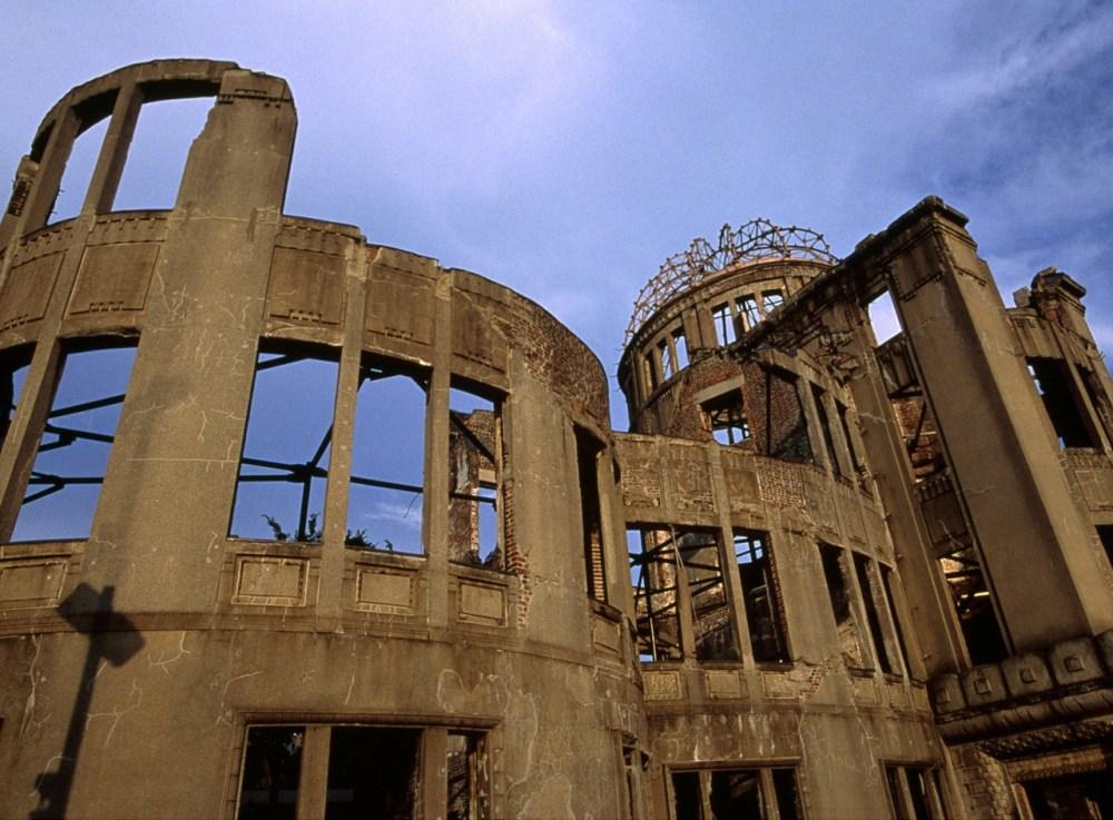 Ruina en Hiroshima
