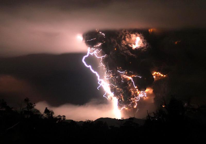Erupcion nocturna