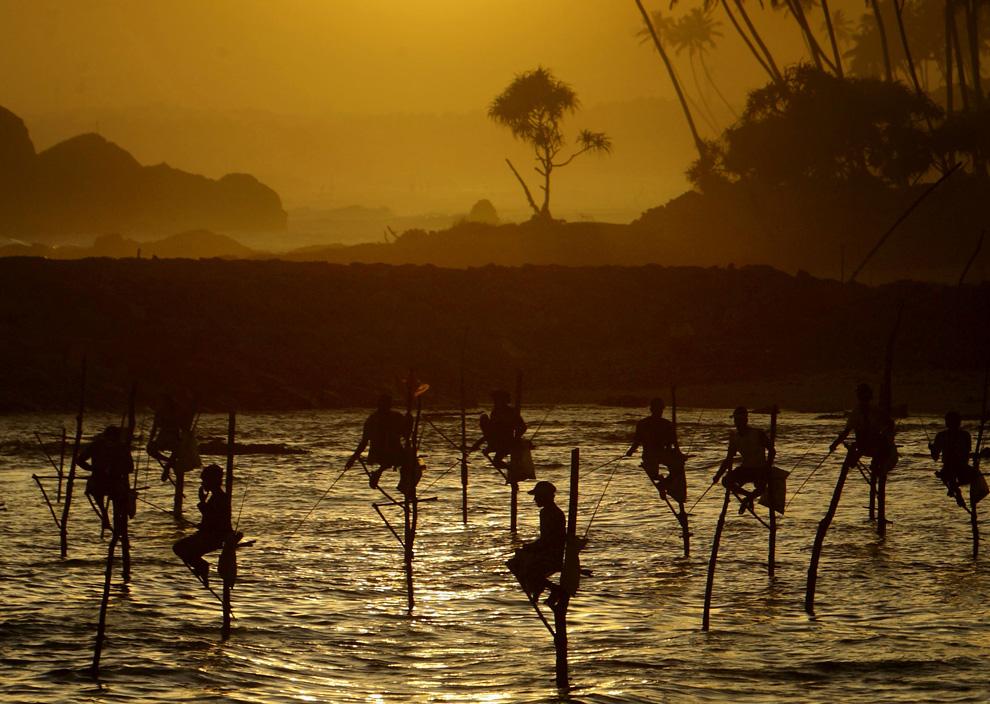 Pescadores palo