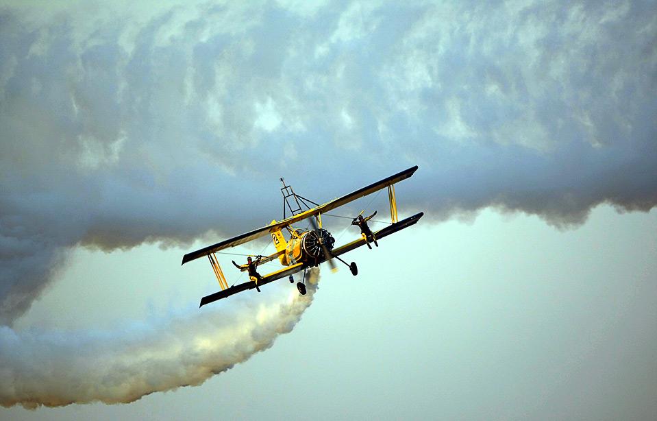 Acrobata aereo